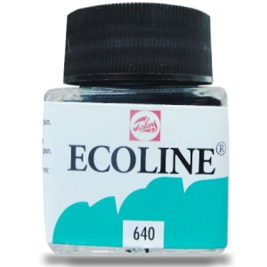 Ecoline Talens 30ml 640 Blue Green