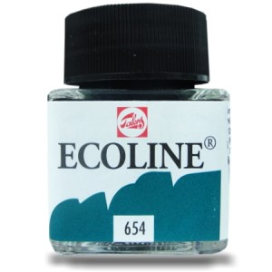 Ecoline Talens 30ml 654 Fir green