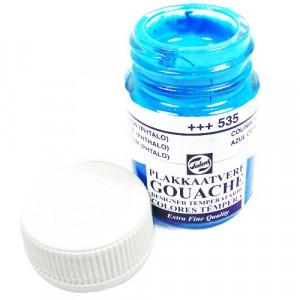 Tinta Guache Para Caligrafia Talens 16ml 535 Cerulean Blue