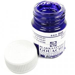 Tinta Guache Para Caligrafia Talens 16ml 548 Blue Violet