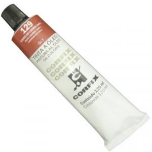 Tinta a Óleo Corfix 120ml 129 Vermelho Cád. (IMIT) G1