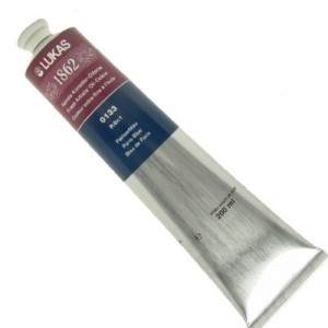 Tinta Óleo Importada Lukas 1862 200ml 0133 Paris Blue G1
