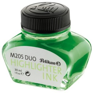 Tinta Para Caneta Tinteiro 30ml Highlighter Pelikan Verde