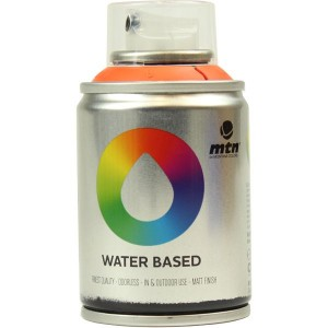 Tinta Spray Acrílico MTN Water Based RV-2004 Azo Orange