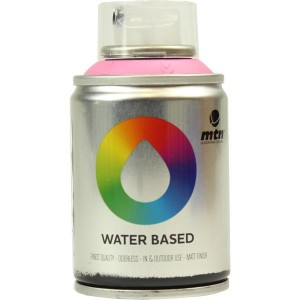 Tinta Spray Acrílico MTN Water Based RV-211 Quinacridone Rose