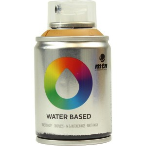 Tinta Spray Acrílico MTN Water Based RV-265 Raw Sienna