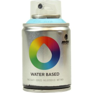 Tinta Spray Acrílico MTN Water Based RV-29 Phthalo Blue Light