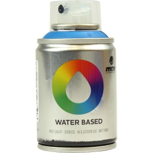 Tinta Spray Acrílico MTN Water Based RV-30 Prussian Blue