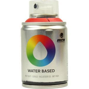 Tinta Spray Acrílico MTN Water Based RV-3020 Naphtol Red