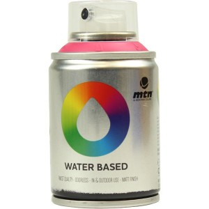 Tinta Spray Acrílico MTN Water Based RV-4010 Quinacridone Magent