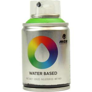 Tinta Spray Acrílico MTN Water Based RV-6018 Brilliant Green