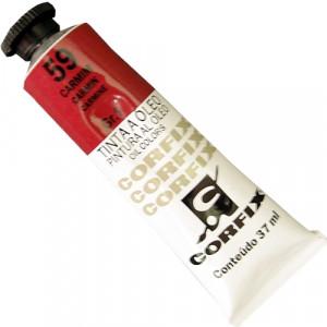 Tinta a Óleo Corfix 37ml  59 Carmim - G1