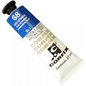 Tinta a Óleo Corfix 37ml  68 Azul Ultramar - G1