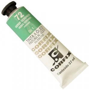 Tinta a Óleo Corfix 37ml  72 Verde Veronese - G1