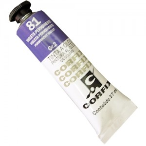 Tinta a Óleo Corfix 37ml 81 Violeta Permanente - G2