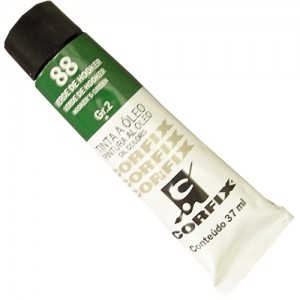 Tinta a Óleo Corfix 37ml 88 Verde de Hooker - G2
