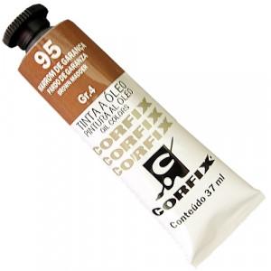 Tinta a Óleo Corfix 37ml 95 Marrom de Garança - G4