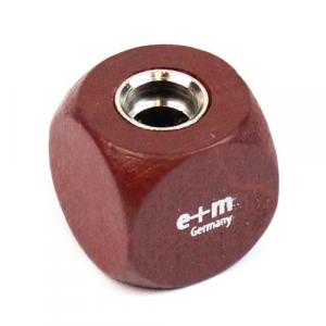 Apontador Para Minas 5.6mm E+M Germany Dado Mahogany