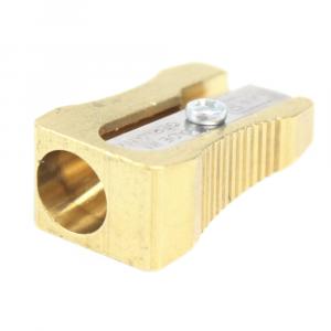 Apontador Para Lápis Clássico Dourado M+R 0600