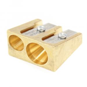 Apontador Duplo M+R 0603 Dourado