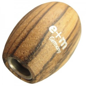 Apontador Para Minas 5.6mm E+M Germany Oval Zebrano