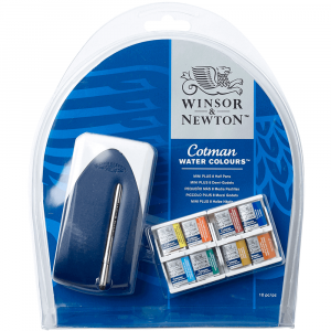 Aquarela Winsor & Newton Cotman Mini Plus 08 Cores