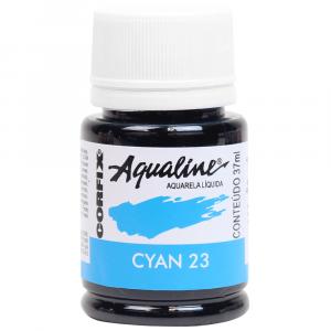 Aqualine Aquarela Líquida 23 Cyan 37ml Corfix