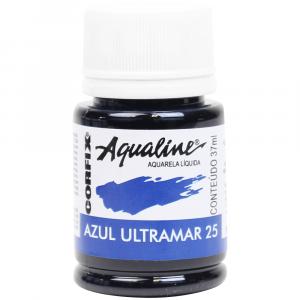 Aqualine Aquarela Líquida 25 Azul Ultramar 37ml Corfix