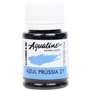 Aqualine Aquarela Líquida 27 Azul Prússia 37ml Corfix