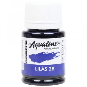 Aqualine Aquarela Líquida 28 Lilás 37ml Corfix