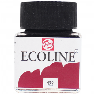 Aquarela Líquida Ecoline Talens 30ml 422 Brun Rouged