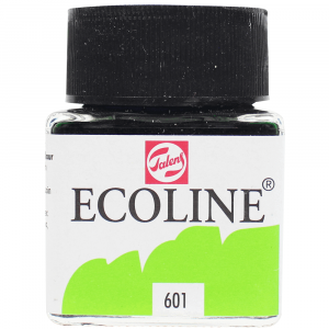 Aquarela Líquida Ecoline Talens 30ml 601 Light Green