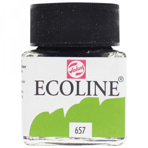 Aquarela Líquida Ecoline Talens 30ml 657 Bronze Green