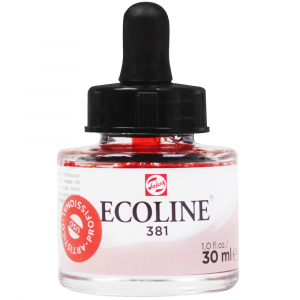 Aquarela Líquida Ecoline Talens 30ml 381 Rouge Pastel