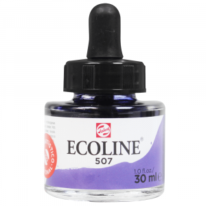 Aquarela Líquida Ecoline Talens 30ml 507 Ultramarine Violet