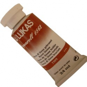 Aquarela Lukas 1862 1109 Burnt Sienna