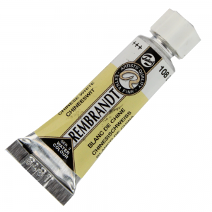 Tinta Aquarela Rembrandt 5 ml 108 Branco da China S.1