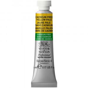 Tinta Aquarela Profissional Winsor & Newton Tubo 5ml S4 907 Cadmium-Free Yellow Pale