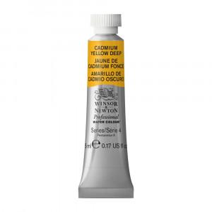 Tinta Aquarela Profissional Winsor & Newton Tubo 5ml S4 111 Cadmium Yellow Deep