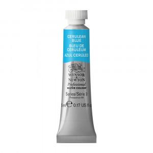 Tinta Aquarela Profissional Winsor & Newton Tubo 5ml S4 137 Cerulean Blue