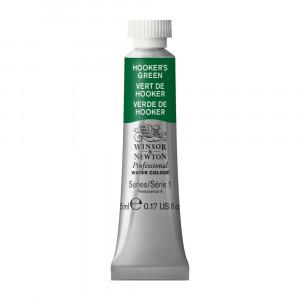 Tinta Aquarela Profissional Winsor & Newton Tubo 5ml S1 311 Hooker's Green