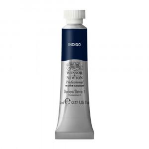 Tinta Aquarela Profissional Winsor & Newton Tubo 5ml S1 322 Indigo