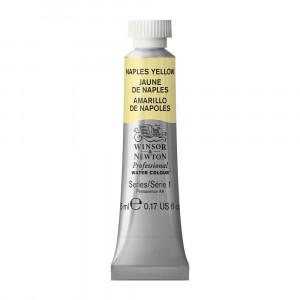 Tinta Aquarela Profissional Winsor & Newton Tubo 5ml S1 422 Naples Yellow