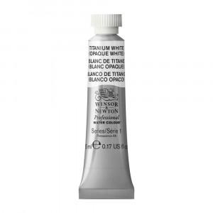 Tinta Aquarela Profissional Winsor & Newton Tubo 5ml S1 644 Titanium White