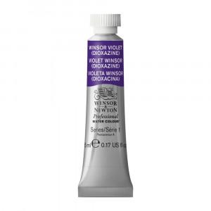Tinta Aquarela Profissional Winsor & Newton Tubo 5ml S1 733 Winsor Violet (Dioxazine)