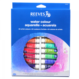 Aquarela Reeves 24 Cores de 10ml