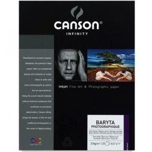 Papel Impressão Baryta Photographique 310g/m² A3 25 Folhas