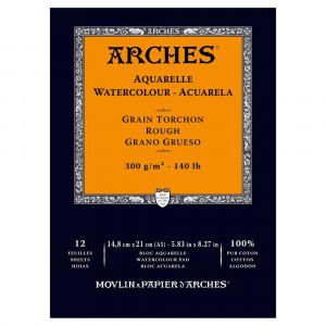 Bloco Papel Aquarela Arches 300g