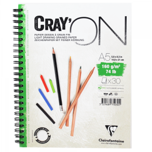 Caderno Cray'ON Clairefontaine A5