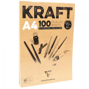 Bloco de Papel Kraft Clairefontaine A4